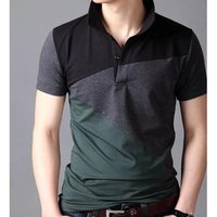 Men's Half Sleeve 100% Cotton T-shirt  -------   Rs 180/ Piece