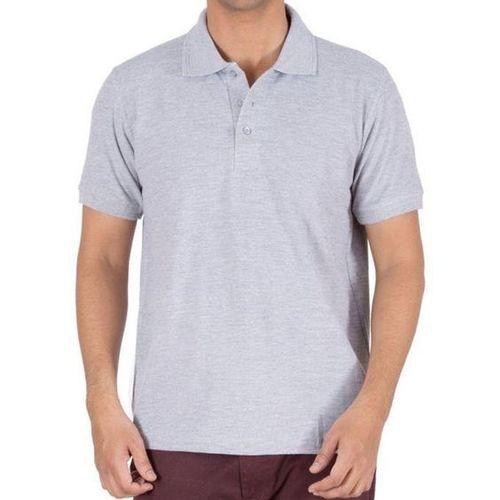 Mens Polo Dark Grey T Shirt