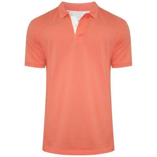 Peach Color Biowash Polo T Shirts   --------   Rs 200/ Piece