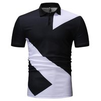 Mens Black Polo T-Shirt