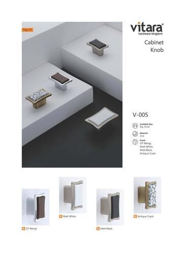 Zinc Cabinet Knob