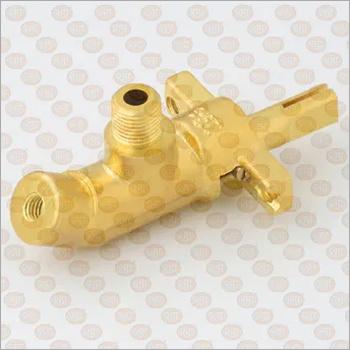 30 Degree BA Brass Gas Cock