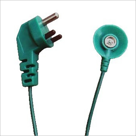 Grounding Cord with 3 Pin Plug