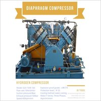 Toxin Flammable Helium Oxygen Hydrogen gas High purity Oil Free Diaphragm Compressor