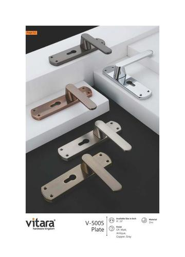 Silver Mortise Handles