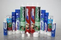 tooth paste laminated tube