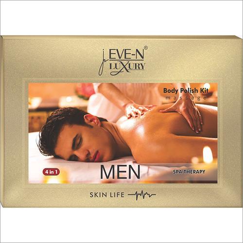 Men SPA Therapy Body Polish Kit Massage