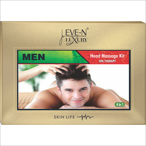 Men Head Massage Kit SPA Therapy