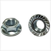 Metric Hex Flange Nut