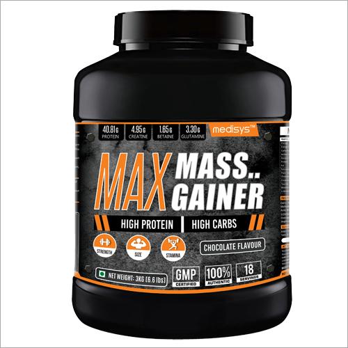 Max Mass Gainer Supplement