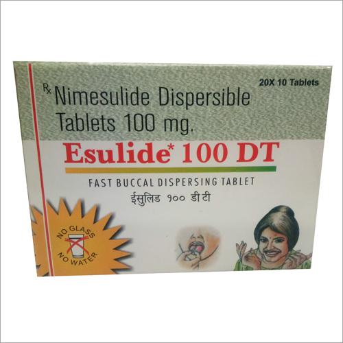 100mg Nimesulide Dispersible Tablet