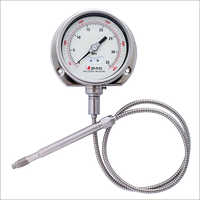 Flexible Stem Melt Pressure Gauge