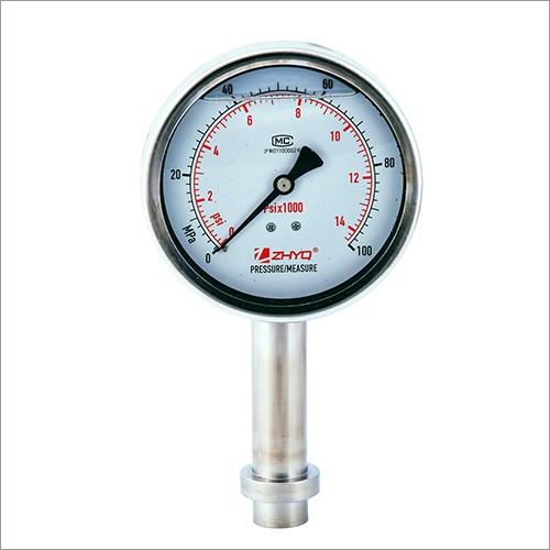 Pressure Plate Diaphragm Pressure Gauge