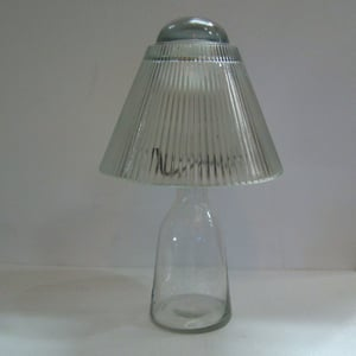 Big Glass Clear Oil Lamp