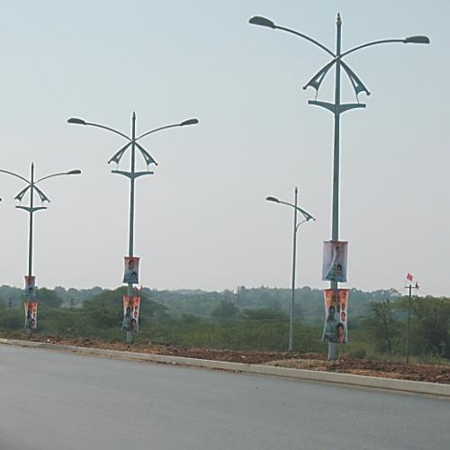 MS SHEET LIGHT POLES (Pole only)