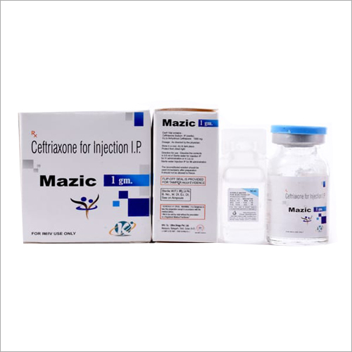 1gm Ceftriaxone For Injection