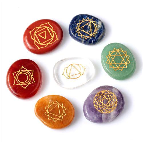 Seven Chakra Reiki Stone Set