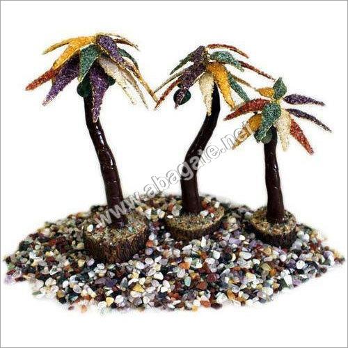 Multicolor Fancy Gemstone Tree