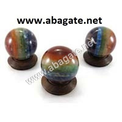 Seven Chakra Gemstone Ball