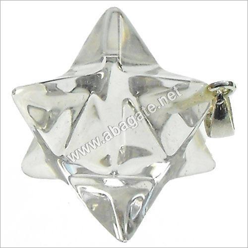 Unisex Merkaba Star Pendant