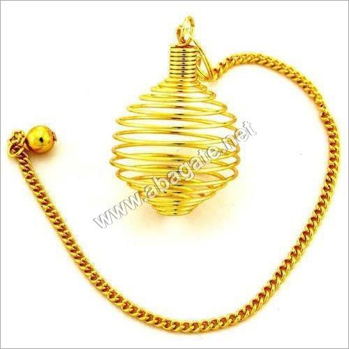 Metal Cage Pendulum