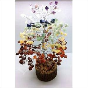 Seven Chakra Healing Gemstone Tree
