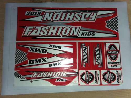 car dome stickers