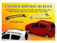 Universal Abs Roof Rail (Black & Black/Silver)
