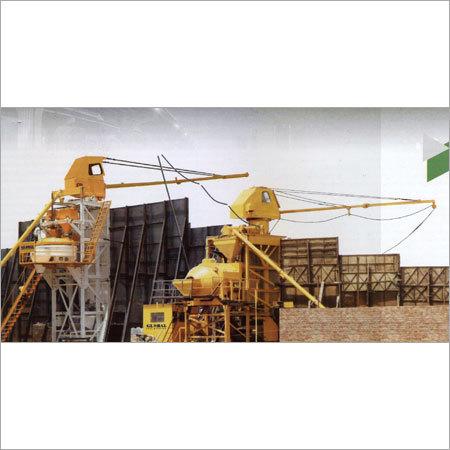 Boom Scraper Concrete Batching & Mixing Plant