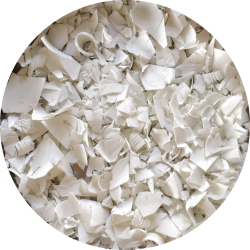 White Plastic Chips