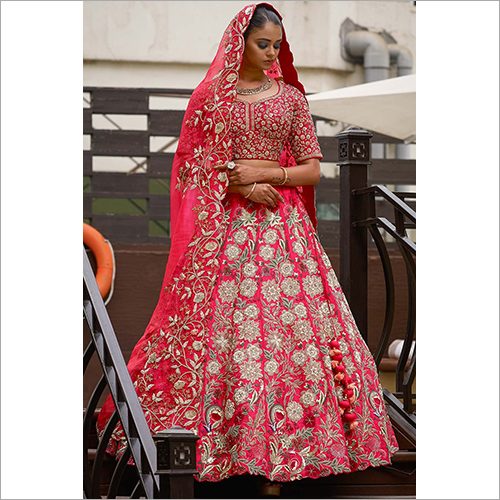 Ladies Heavy Work Embroidered Lehenga Choli