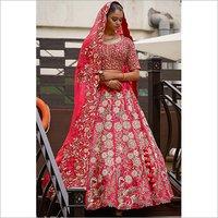 Ladies Heavy Work Embroidered Lehenga Choli