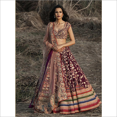Ladies Elegant Bridal Lehenga Choli