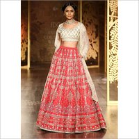 Ladies Party Wear Embroidered Lehenga Choli