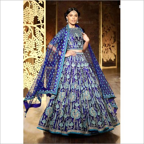 Ladies Embroidered Designer Lehenga Choli