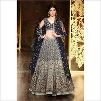 Ladies Embroidered Party Wear Lehenga Choli