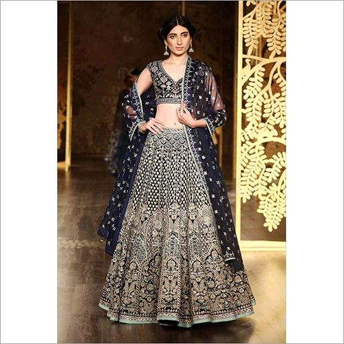 Ladies Embroidered Party Wear Lehenga Choli
