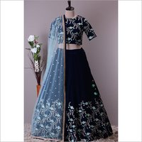 Ladies  Designer Embroidered Lehenga Choli