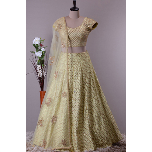 Ladies Stitched Lehenga Choli