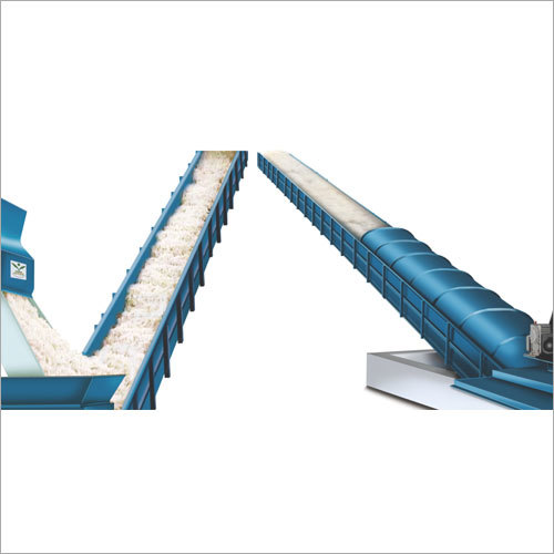 Mechanical Seed Cotton & Lint Belt Conveyor