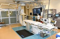 Cath lab machine
