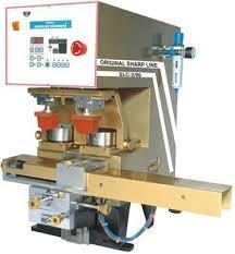 Dual Colour Closed Cup Pad Printing Machine