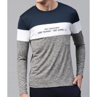 Cotton Full Sleeve Designer T-Shirts  ----------  Rs 100/ Piece