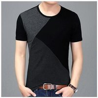 Mens Plain Designer T-Shirt  --------   Rs 180/ Piece
