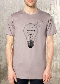 Mens color printed Designer T-Shirt