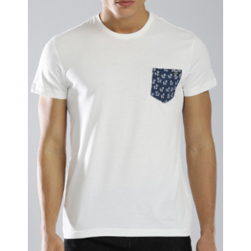Plain White Designer biowash T-Shirt  ---------   Rs 180/ Piece