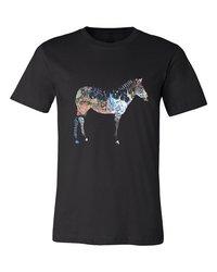 Mens Black Round Neck Biowash Designer T-Shirt  ------  Rs 180/ Piece