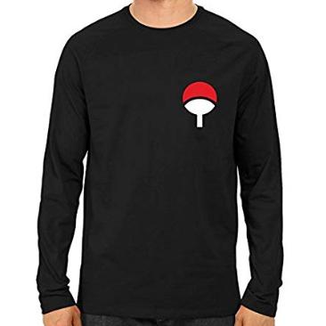 Full Sleeve Black Designer T Shirt