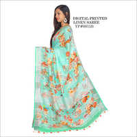 Ladies Floral Digital Printed Saree
