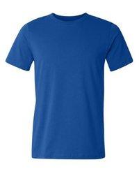 Mens Royal Blue Super Combed T-Shirt  --------  Rs 145/ Piece